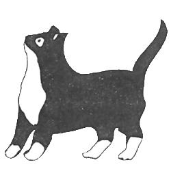 Original Cat Call logo 1980s
