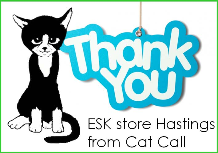 Thank you ESK store Hastings