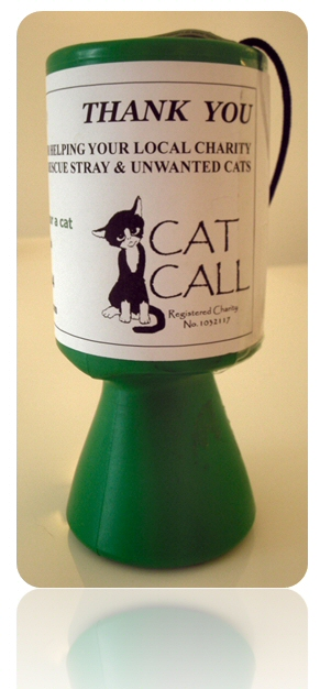 Cat Call Hastings collection box
