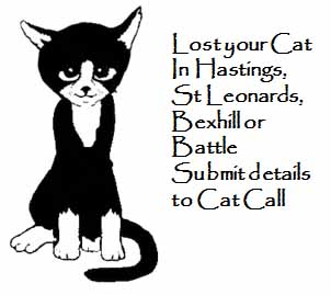 Lost Your Cat send details to Cat Call