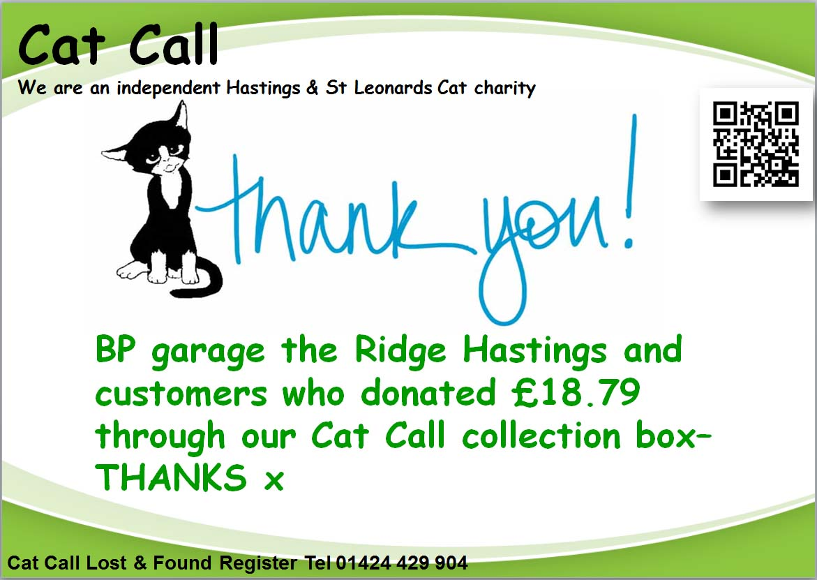 Thank you BP the Ridge Hastings