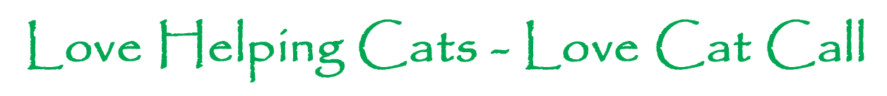 Love Helping Cats - Love Cat Call