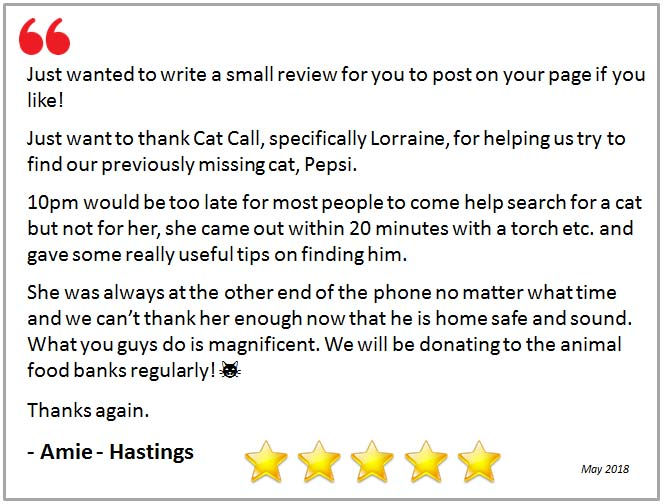 Review - Thank you Cat Call