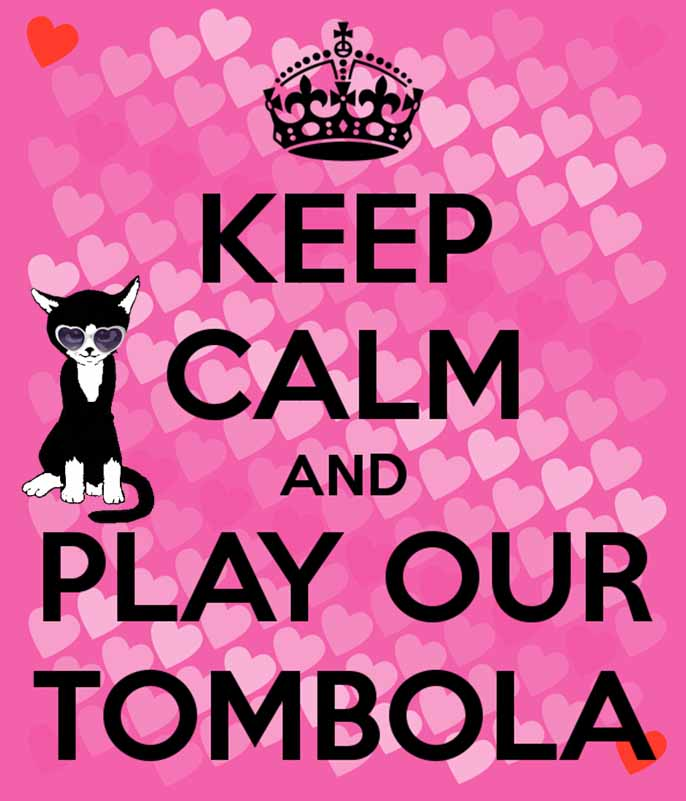Cat Call Tombola Sat 7th July at Asda