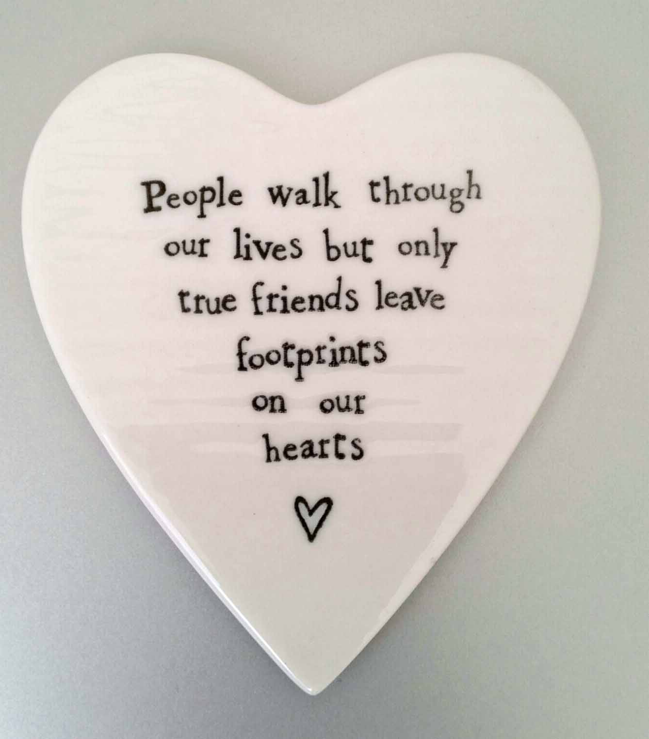 foot prints on your heart