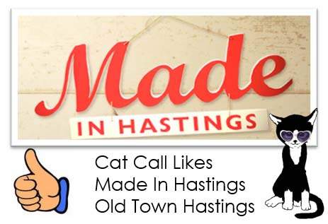 Cat Call Likes Made In Hastings