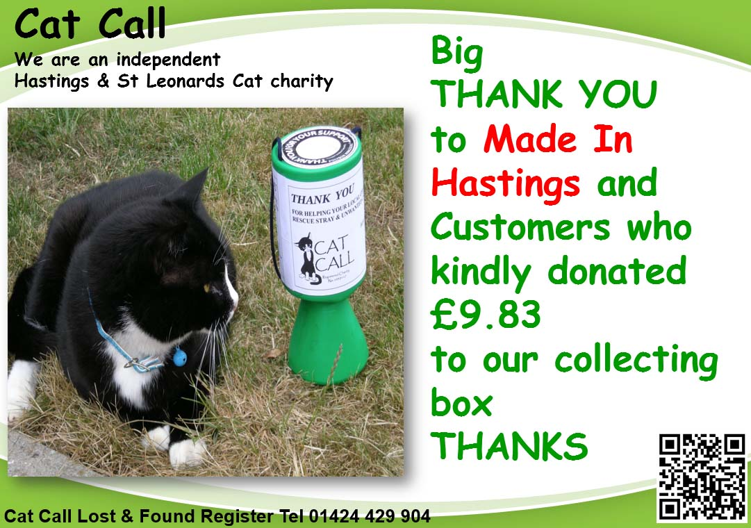 Thank You Made In Hastings from Cat Call