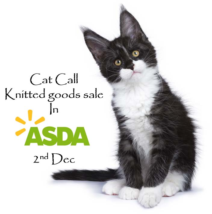 Cat Call Knitted Goods Sale 2nd Dec