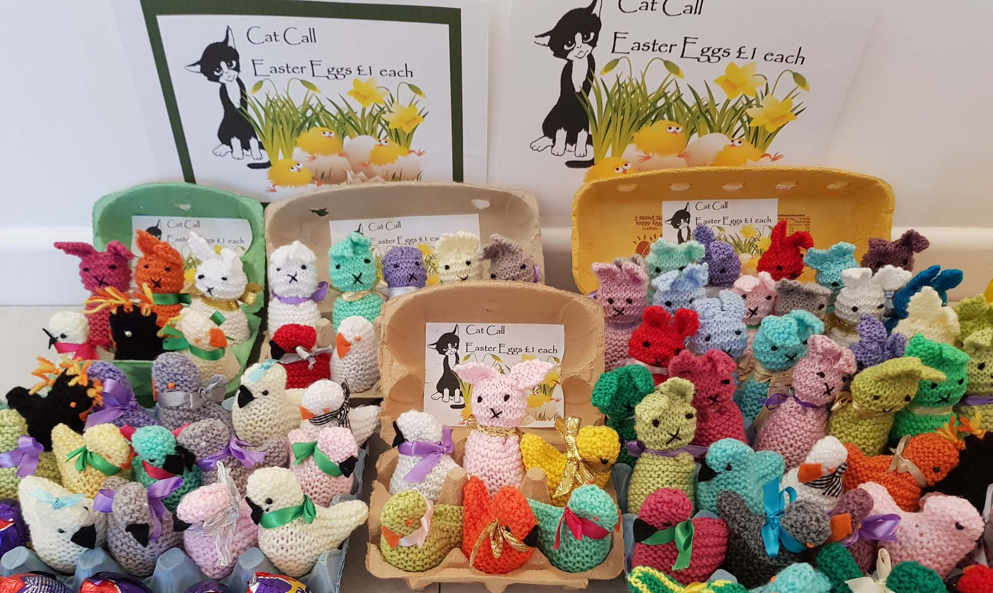 All ready for our Cat Call Easter Sale