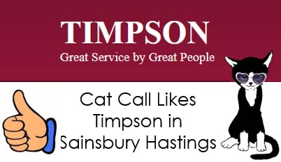 Cat Call Likes Timpsons