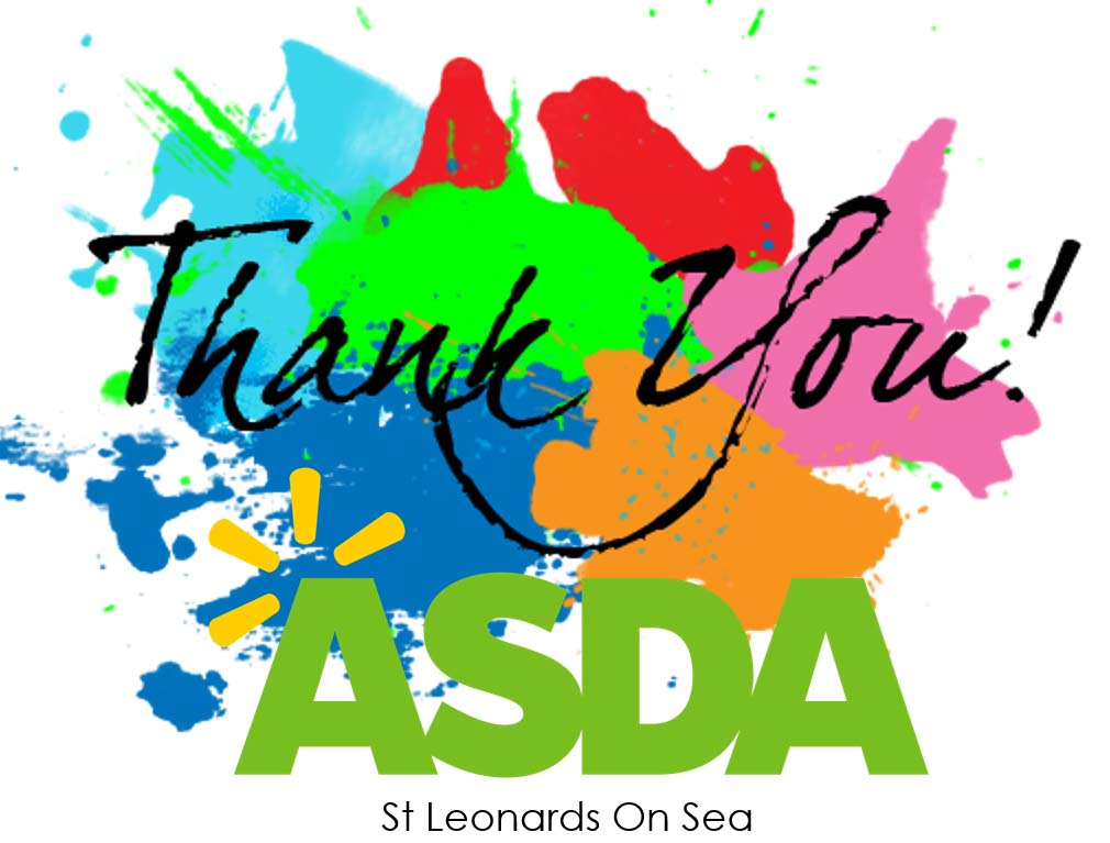 Thank You Asda Hastings