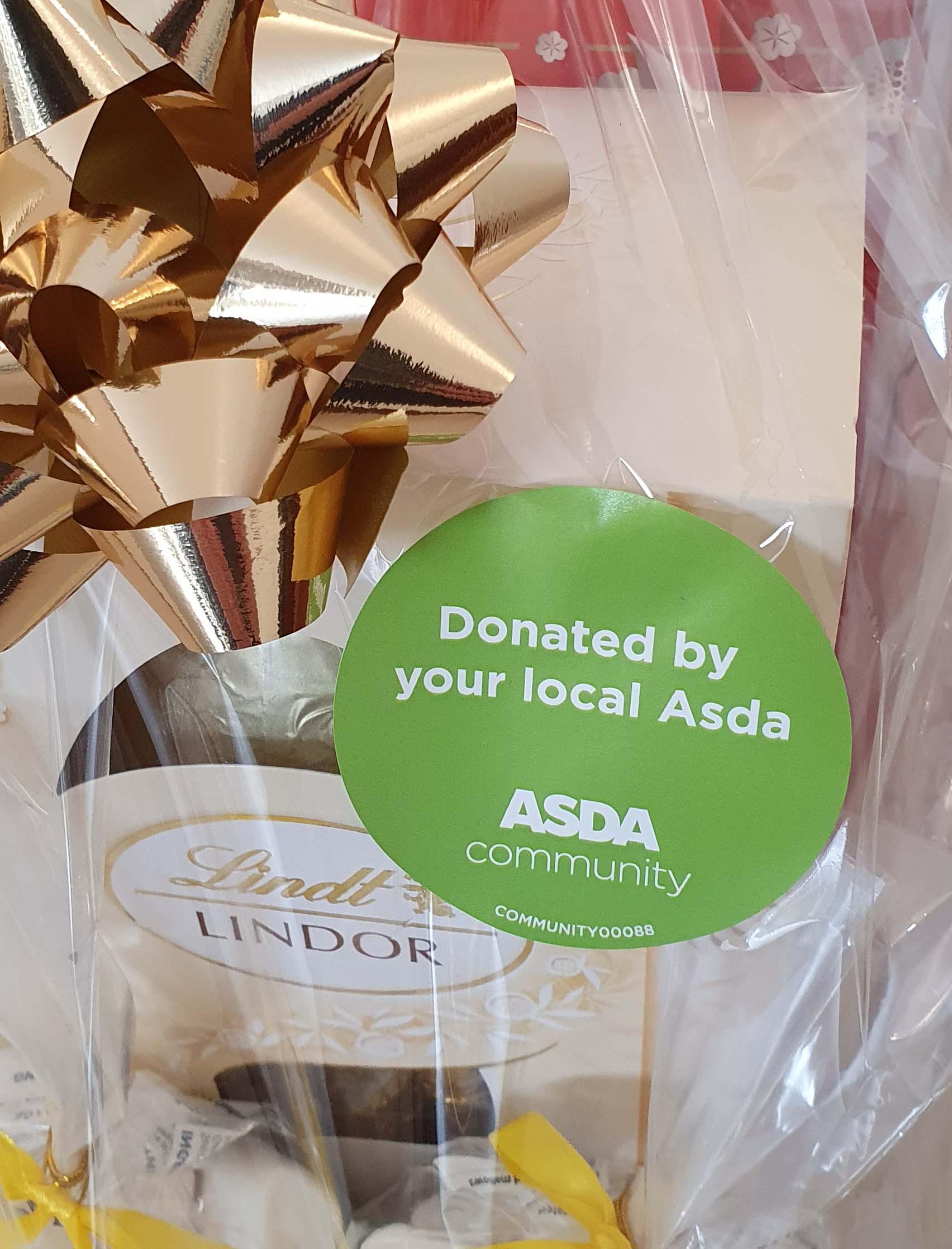 Donated by Asda St Leonards On Sea