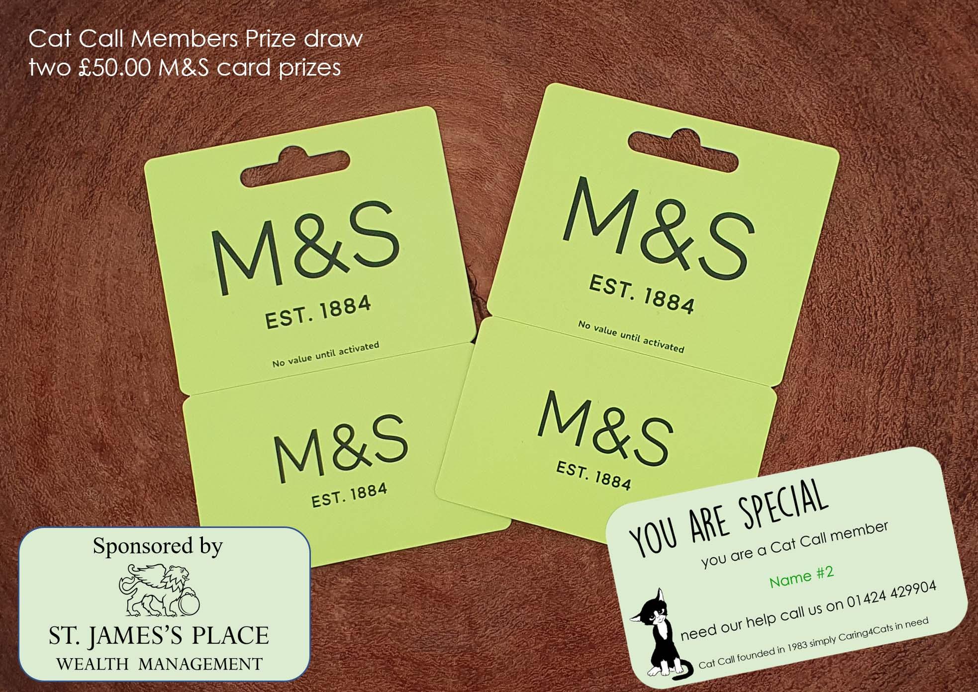 M&S £50 prize draw